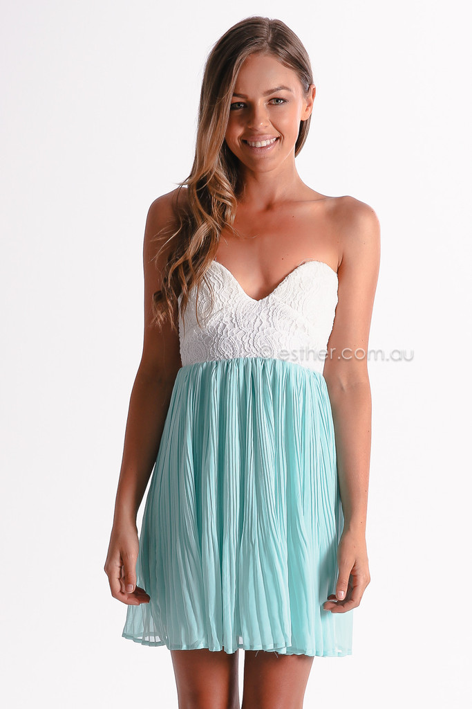 One And Only Cocktail Dress - Mint
