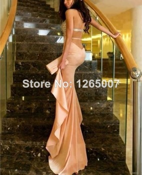 Aliexpress.com : Buy New Round O Neck Long Sleeves Criss Cross Back Mermaid Evening Dresses New Fashion Formal Dresses from Reliable dress up games lingerie suppliers on SFBridal