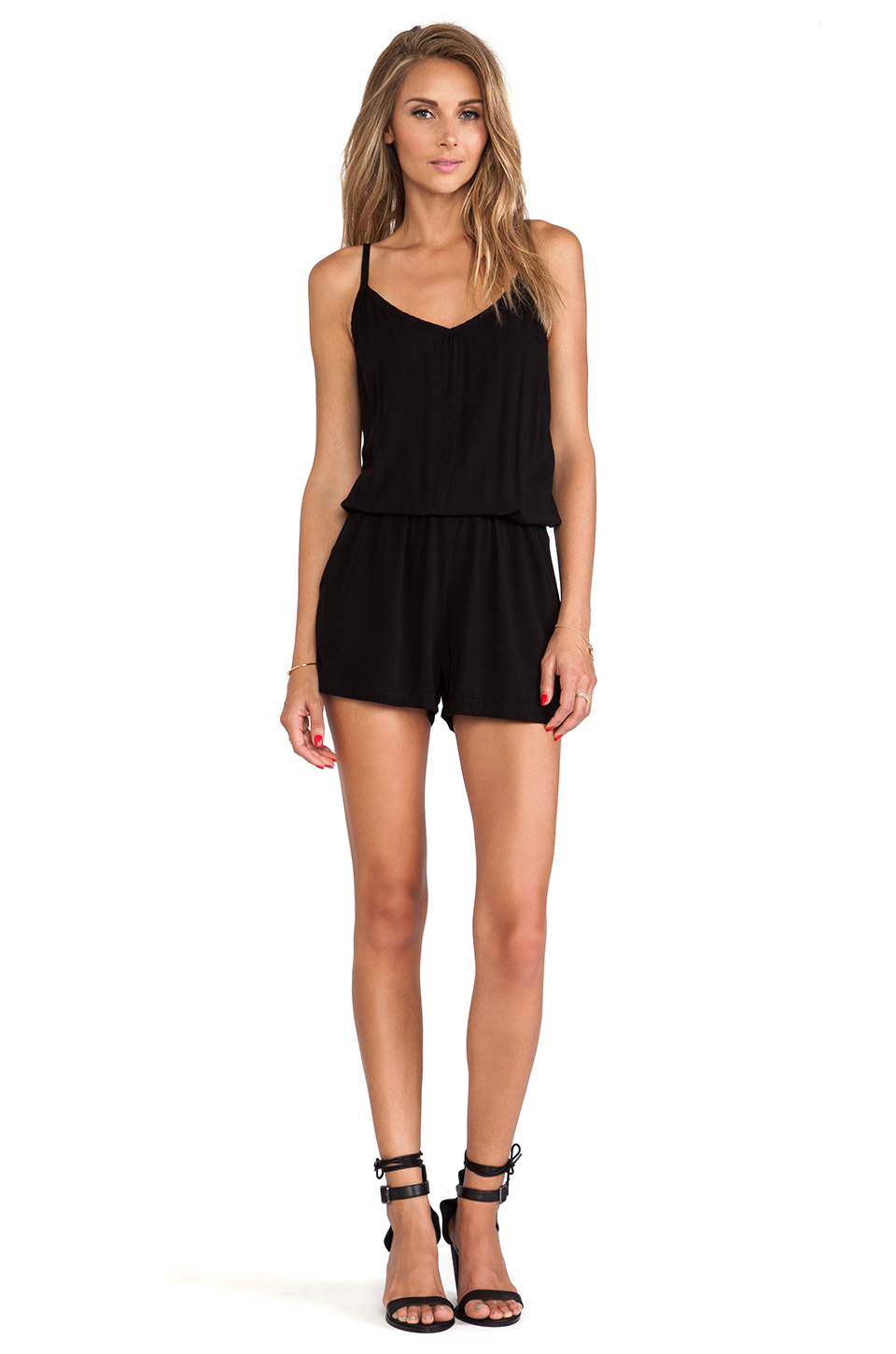 Splendid Romper in Black | REVOLVE