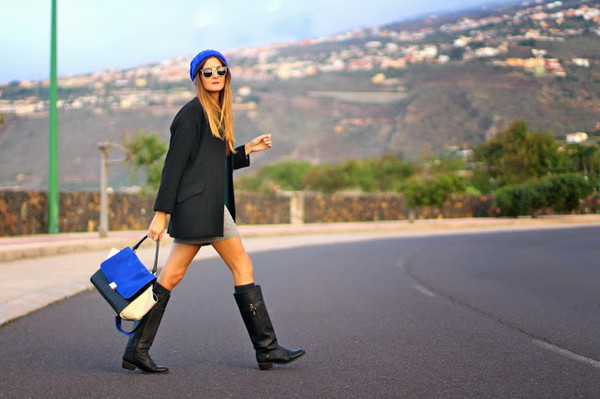 marilyn's closet blog dress bag sunglasses shoes coat hat