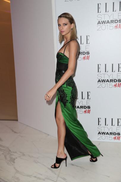 dress gown taylor swift sandals