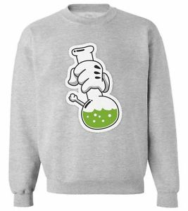 MICKEY MOUSE HANDS BONG SWEATER OBEY YMCMB JUMPER DOPE WEED OFWG HIGH SWEATSHIRT   eBay