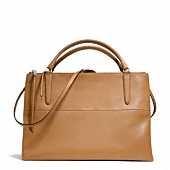 Coach :: THE LARGE BOROUGH BAG IN RETRO GLOVE TAN LEATHER