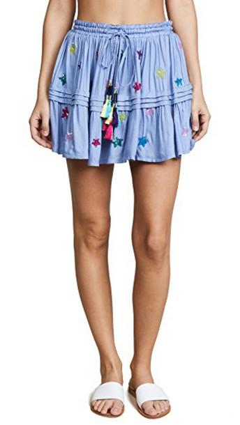 ROCOCO SAND skirt short skirt short blue