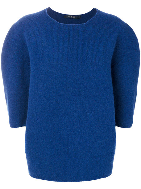 Sofie D'hoore jumper oversized women blue wool sweater