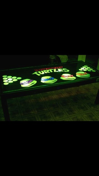 jewels sportswear beer ninja turtles table