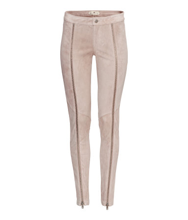 H&M Suede Pants $100