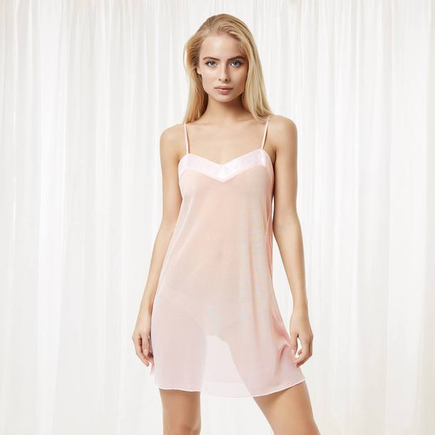 453f7cf7289f underwear sheer bluebella chemise pajamas light pink lingerie sexy pink  lingerie cover up nightwear