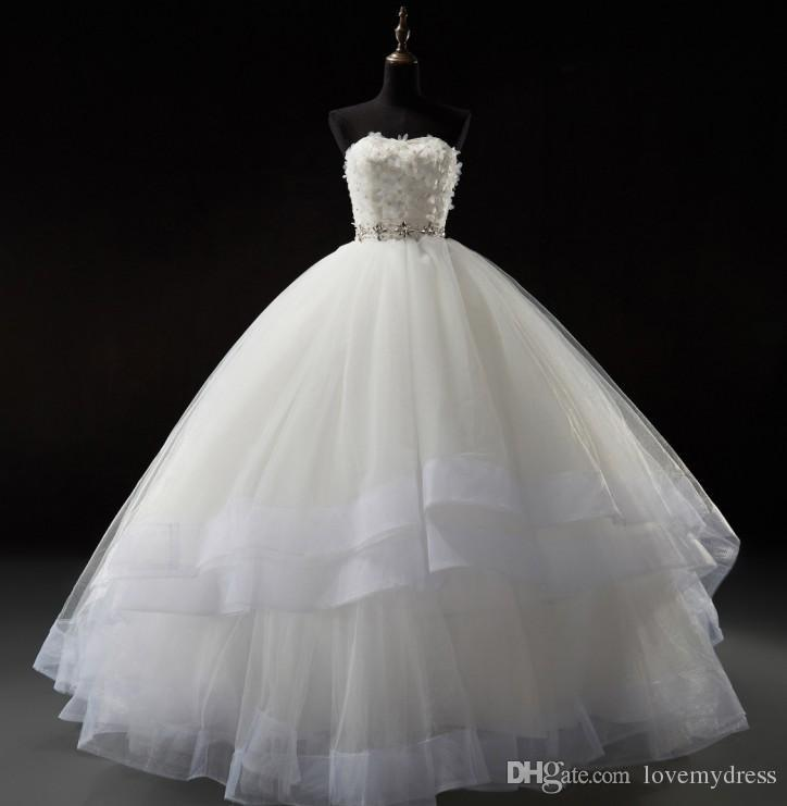 2016 ball gown wedding dresses sweetheart corset lace up for Corset lace up wedding dress