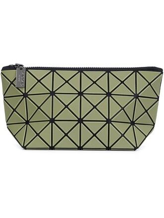 women clutch green bag