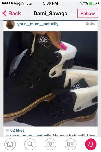 shoes ugg boots uggs#uggsaustralia uggboots black boots