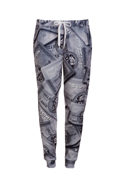 Loaded Platinum Joggers - Streetwear