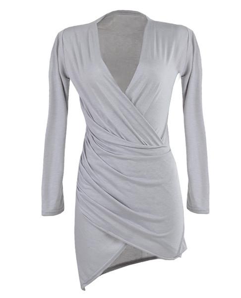 Magina Wrap Dress | Outfit Made