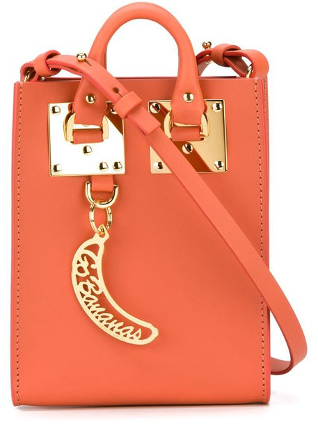 Sophie Hulme bag crossbody bag yellow orange