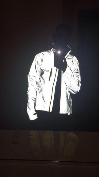 jacket gray glow in the dark