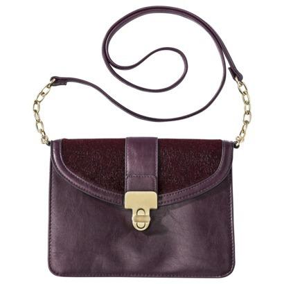 Crossbody Handbag - Burgundy : Target