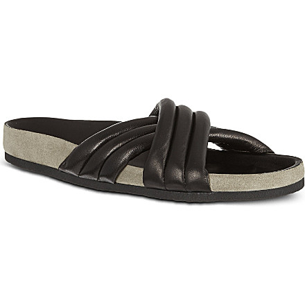 ISABEL MARANT - Holden cross-over sandals | Selfridges.com
