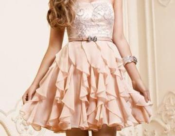 2015 new short pearl pink a