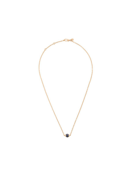 Pomellato rose gold rose women necklace gold yellow orange jewels