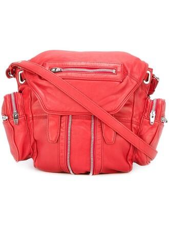 mini backpack red bag