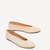 BALLERINES EN CUIR AVEC DESSUS EN V - Chaussures plates-CHAUSSURES-FEMME | ZARA France