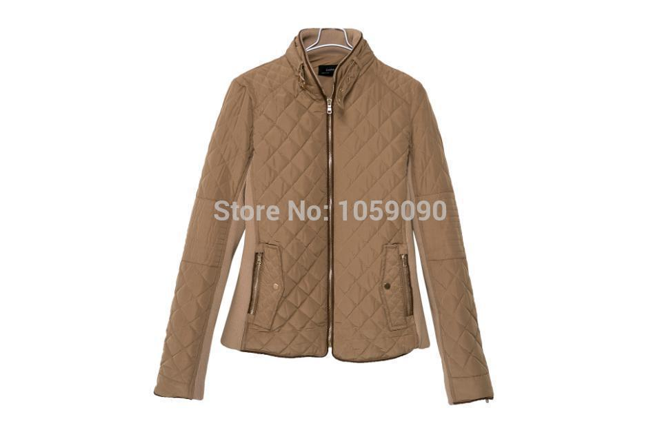Aliexpress.com : Buy Factory Outlets 2014 New Winter in Europe and America Women British Style Stitching Cotton Quilted Jacket Short Parkas Coat from Reliable outlet tag suppliers on Vogue Official Online Shop