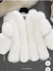 jacket,fur coat,fur,faux fur,white