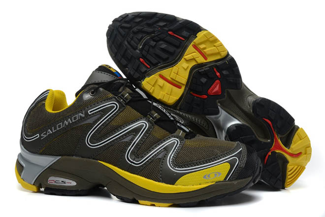 Salomon Trail Running Shoe Men's Xt Hawk 2 yellow grey