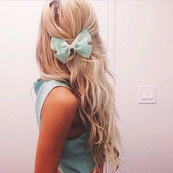 turquoise hair accessories