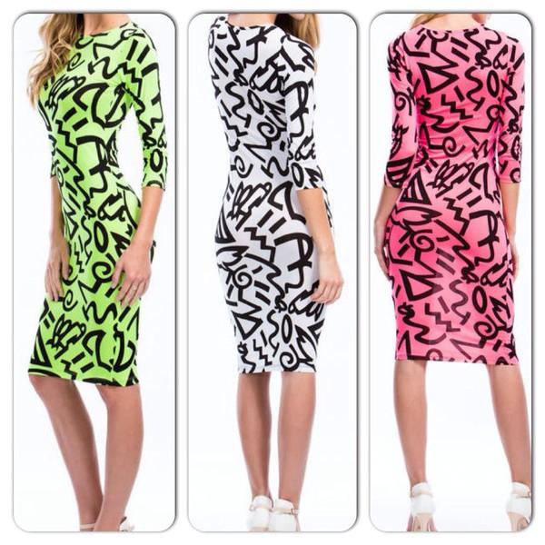 letters dress dress summer dress