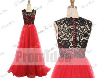bridesmaid ball gown style evening dress grad dress lace prom dress red prom dress formal dress lace formal dress wedding dress lace wedding dress prom dress