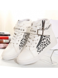Discount   Amazing Round-toe Leopard Print Splicing Flats [pg0155]- USD$20.33 - fashioninfashion