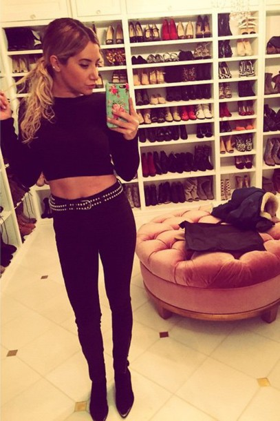 top crop tops ashley tisdale instagram home accessory