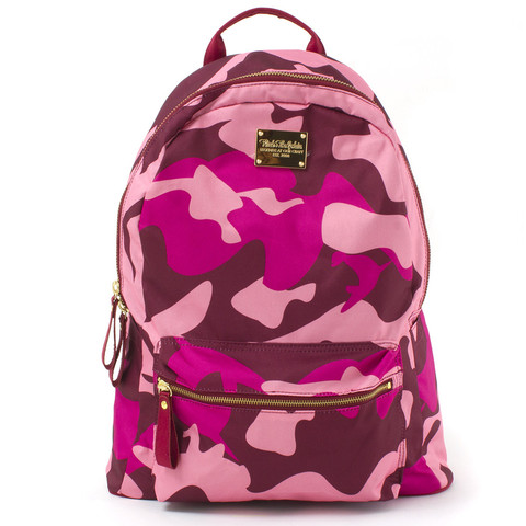 Camo Backpack in Pink – Pink Dolphin