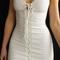 Paradise sleeveless lace up dress