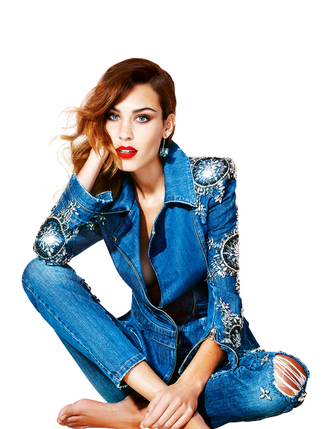 jacket denim alexa chung jeans embellished denim
