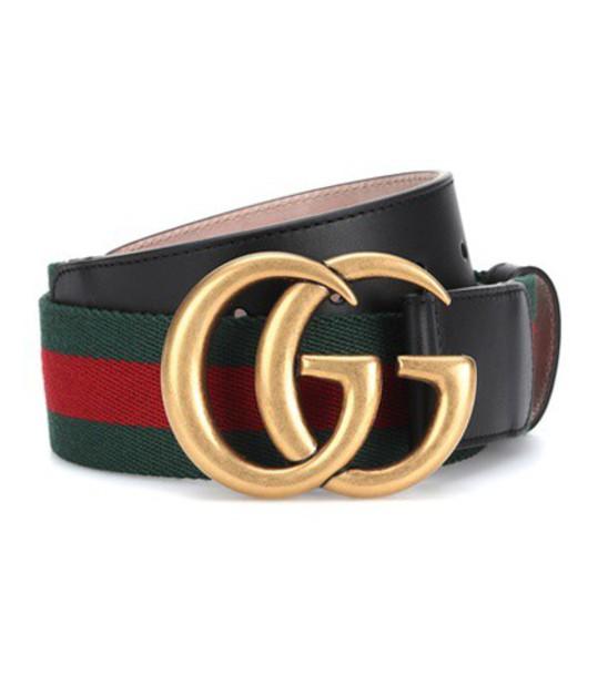 Gucci Web belt in red