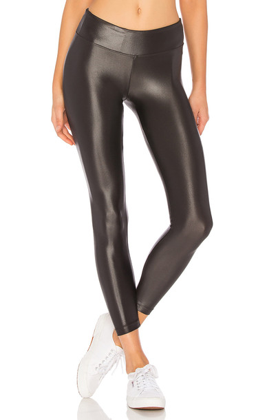 KORAL Lustrous Legging in charcoal