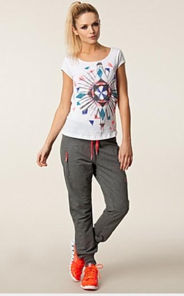 pants sportswear blouse