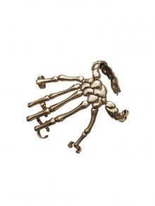 Skeleton Hand Cuff with Rings | NOT JUST A LABEL