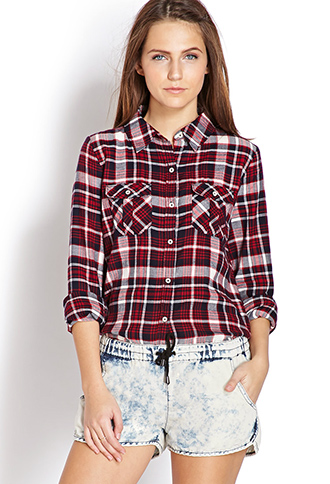 Fuss plaid shirt
