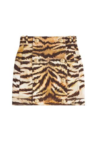 skirt animal print animal print