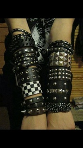 jewels,black gothic bracelets