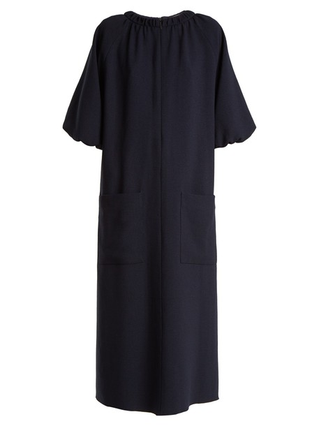 Tibi dress pocket dress navy
