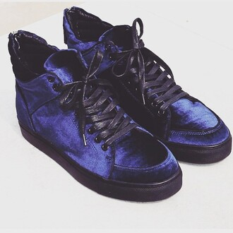 shoes maniere de voir virtue velvet sneakers trainers