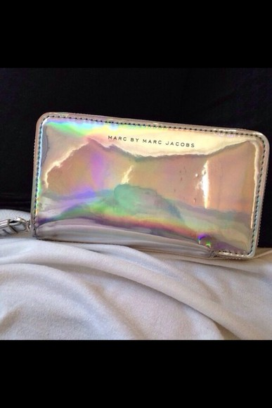 marc by marc jacobs marc jacobs bag purse, holographic