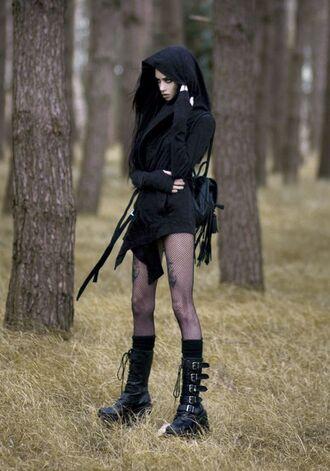 coat gothic lolita goth hipster goth goth shoes goth dress mantle black coat black