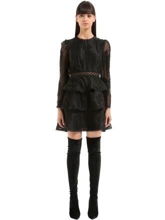 dress mini dress mini lace black