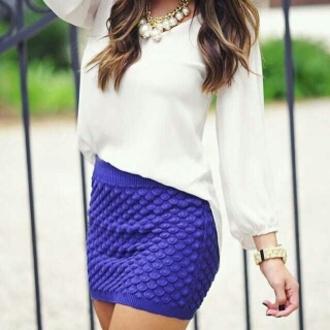 skirt mini skirt dark blue