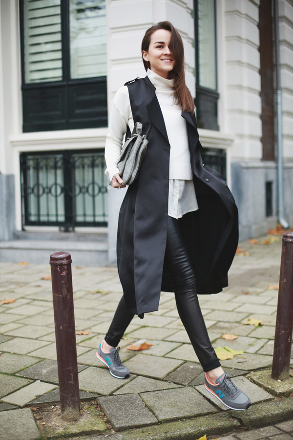 style scrapbook shoes coat pants sweater bag